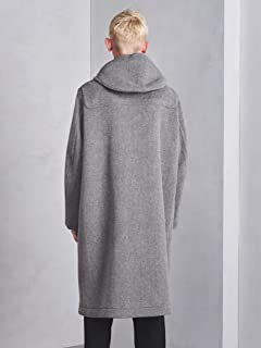 Duffle Coat 1125-343-6552: Light Grey