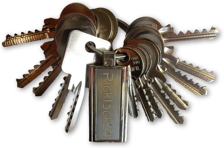 Picklock24. Juego de llaves universales Reino Unido (15 llaves ...