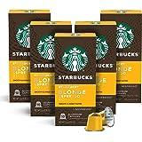 Starbucks by Nespresso, Blonde Roast Espresso (10 Count (Pack of 5) single serve capsules, compatible with Nespresso Original