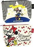 ディズニー ミッキーマウス&ミニーマウス グッディポーチ 2柄セット(ザ・ショー/リボン)