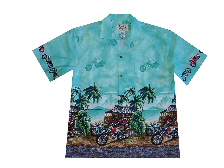 b3f545aea4c Harley Davidson Aloha Biker Hawaiian Shirt at Amazon Men's Clothing ...