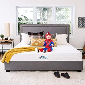 Sunrising Bedding 10 Inch Natural Latex Hybrid King Mattress, Gel Memory Foam, Encased Pocket Coils, Medium Firm, Sleeps Cooler, CertiPUR-US Certified, 120 Night Trial, 20 Year Warranty