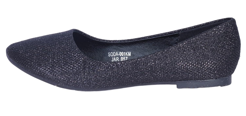 Lucita Girls Solid Dress Ballet Flats Dance Shoes