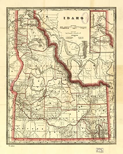 Amazon.com: 1896 Map of Cram's township and railroad map of ... on map of idaho mountains, map texas with cities, map of idaho gold mines, map of idaho and montana, map of arizona cities, iowa map with cities, map of northern idaho cities and towns, map of idaho roads, all idaho cities, map of idaho and oregon, map of washington cities, map of idaho fires, idaho state cities, map of california cities, map of idaho ski resorts, map of idaho state parks, map of twin falls idaho city limits, alaska map with cities, map of idaho rivers, map ohio with cities,