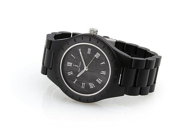 James Walker Black S Madera Reloj Gorilla Edition Reloj de pulsera madera apto para hombre y