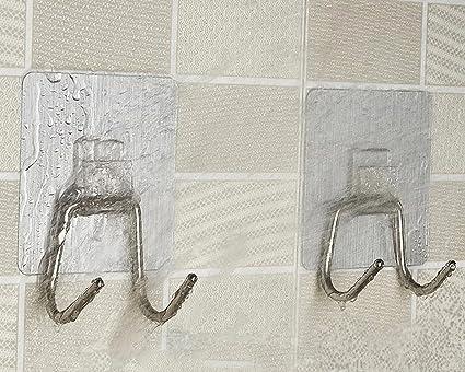 sftlite [2 unidades] – Ganchos perchero para puerta resistente gorro de ganchos de pared