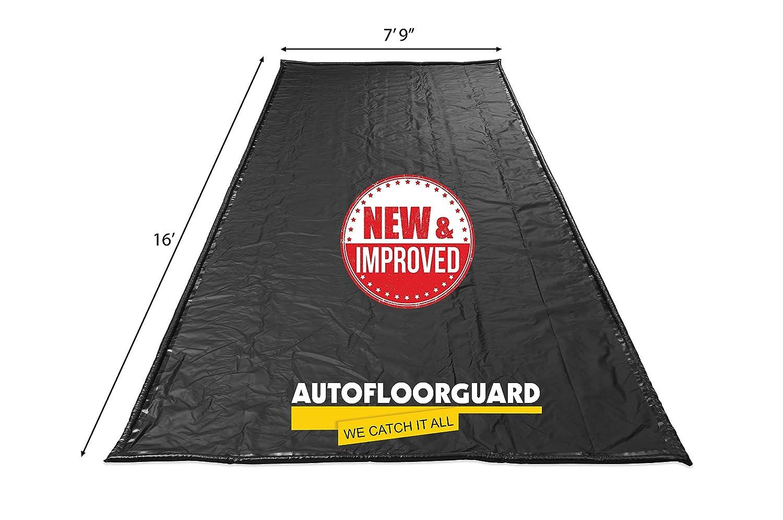 """AutoFloorGuard AFGS-7916 Black 7'9"""" x 16' AFG Compact Size Containment mat"""