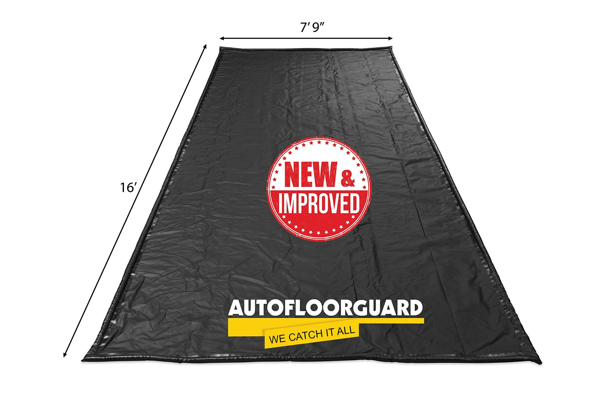AutoFloorGuard AFGS-7916 Black 7'9'' x 16' AFG Compact Size Containment mat by AutoFloorGuard (Image #2)