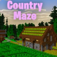 Countryside Maze Map For Minecraft PE