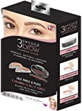 3 Second Brow Eyebrow Stamp - Perfect, Natural-Looking Eye Brows in Seconds | Water Resistant, Long Lasting, All Natural Color
