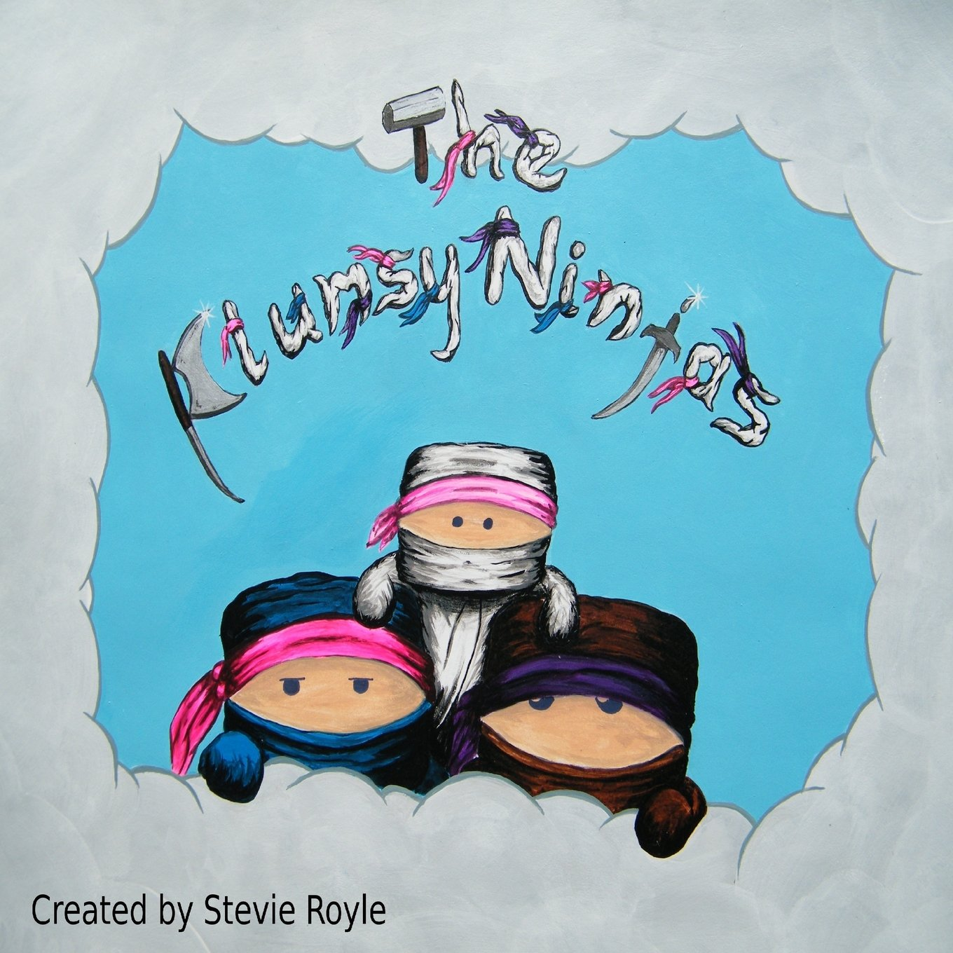 The Clumsy Ninjas: Stevie Kyle Royle: 9781720461159: Amazon ...