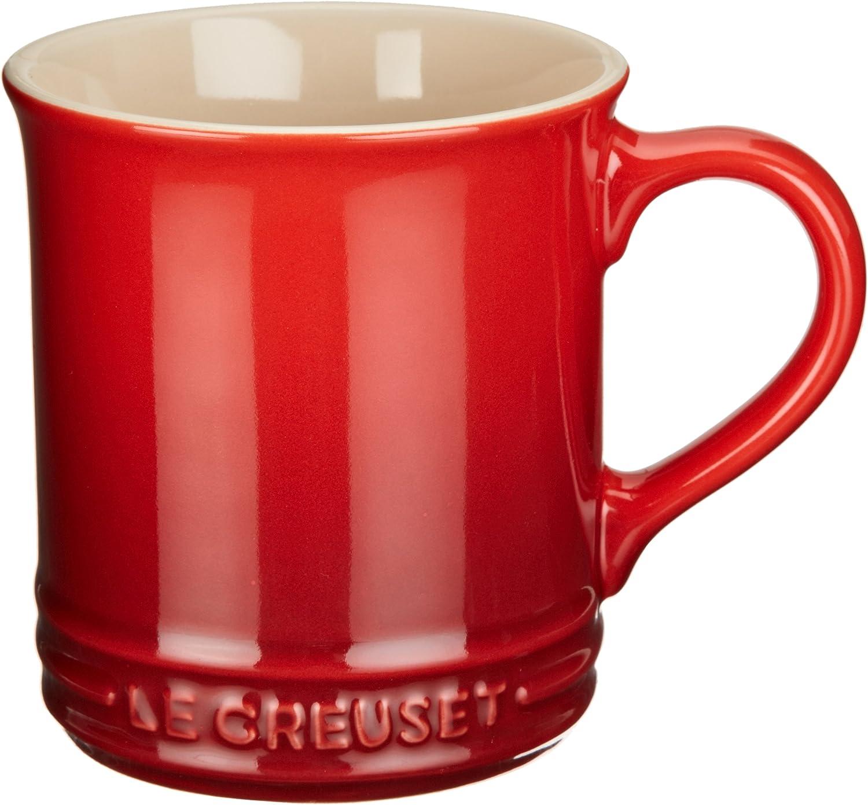 Le Creuset Stoneware Mug 14 Oz Cerise Coffee Cups Mugs