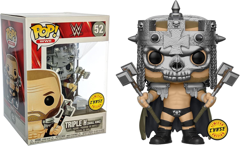 Funko Triple H [Skull King] (Chase Edition) Pop! Figura de Vinilo WWE: Amazon.es: Juguetes y juegos