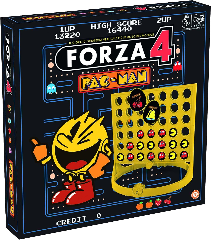 Winning Moves 029087 – Juegos de Mesa Fuerza 4 Pacman, versión Italiana: Amazon.es: Juguetes y juegos