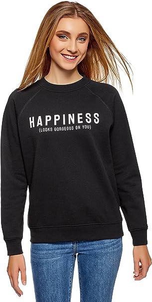 3er-Pack oodji Ultra Damen Baumwoll-Sweatshirt