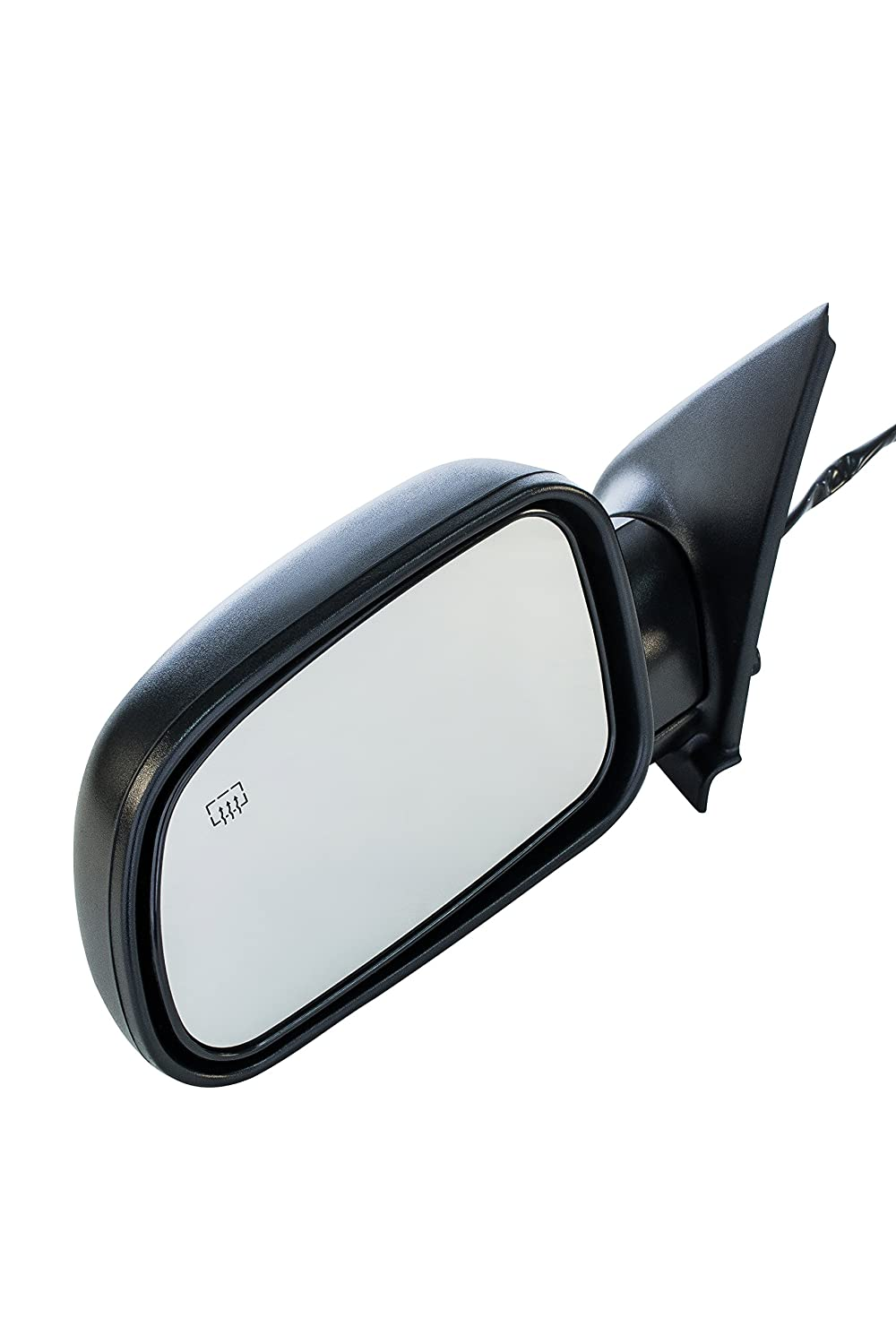 Passenger Side Textured Heated Side View Mirror for 1999-2004 Jeep Grand Cherokee
