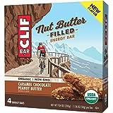 Clif Nut Butter Filled Energy Bar, Caramel Chocolate Peanut Butter, 4 Little Bars