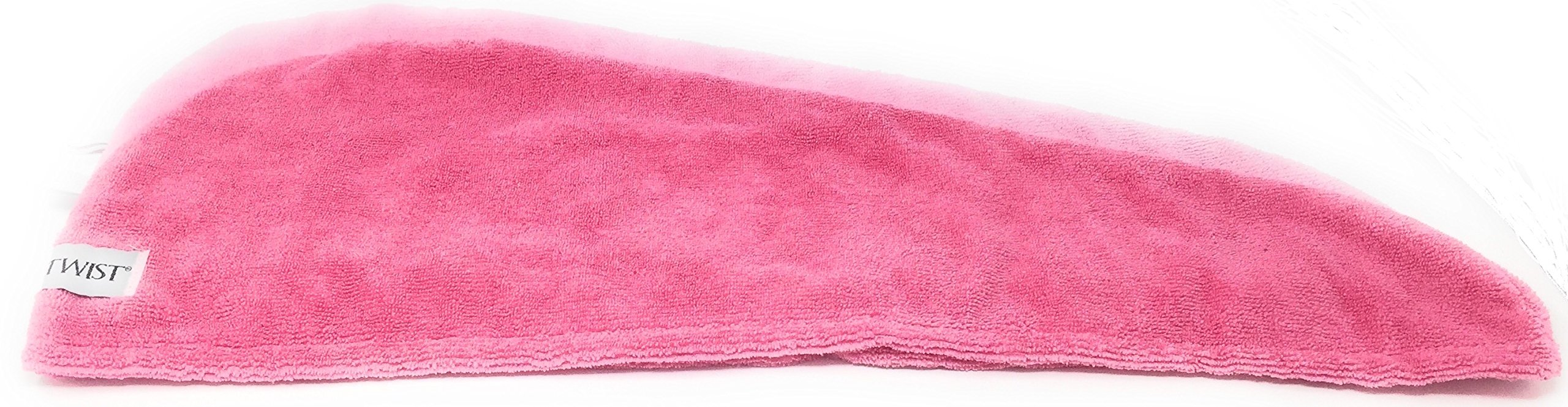 Turbie Twist 6 Pack Light and Dark Pink,Purple, Aqua Microfiber Hair towels by Turbie Twist (Image #6)