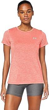 Under Armour Techc Twist Gym T-shirt - Camiseta transpirable de manga corta, cómoda y ancha camiseta de manga corta Mujer: Amazon.es: Deportes y aire libre