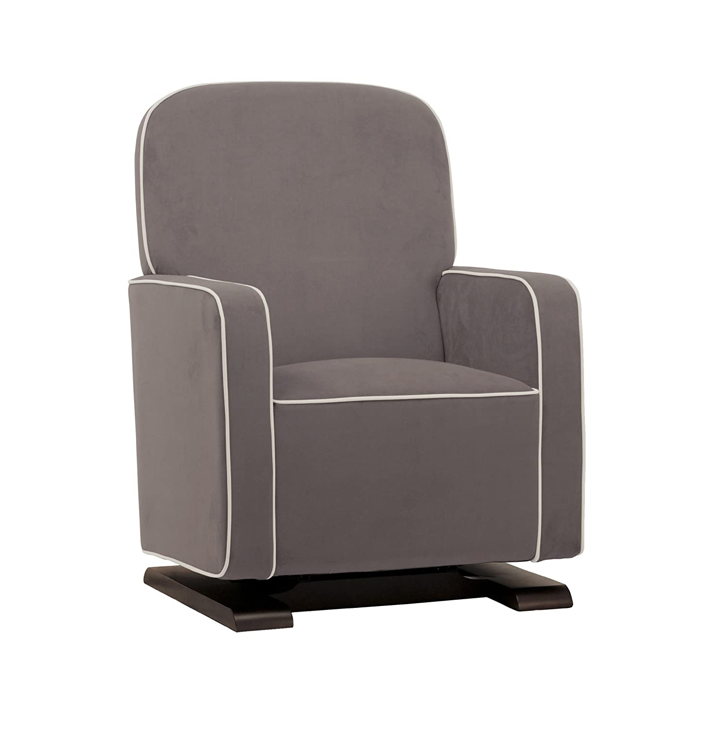 Babyletto Kyoto Glider, Slate Suede With Ecru Piping (Discontinued By  Manufacturer): Amazon.ca: Baby