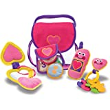 Melissa & Doug Pretty Purse Fill and Spill Soft Play Set Toddler Toy^Melissa & Doug Pretty Purse Fill and Spill Soft…
