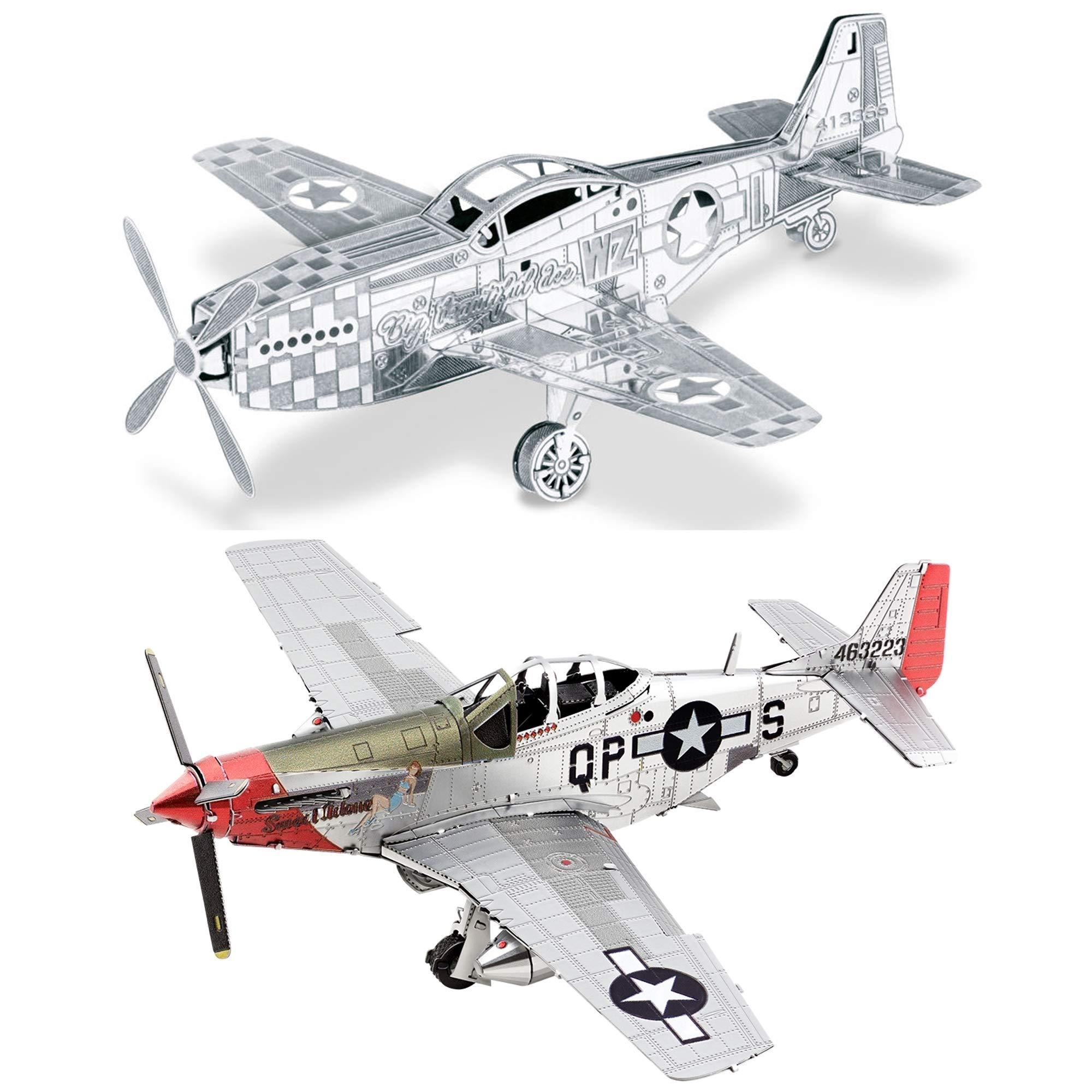 "Fascinations Metal Earth 3D Model Kit P-51D Mustang /""Sweet Arlene/"" BRAND NEW"