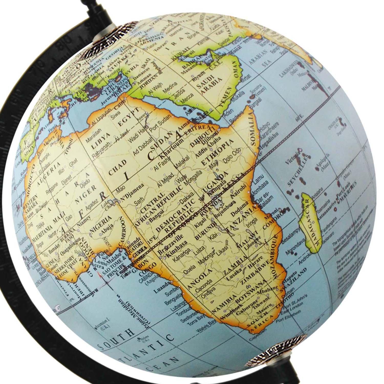 Amazon.com: Decorative Earth Table Top Antique World Map Sky ...