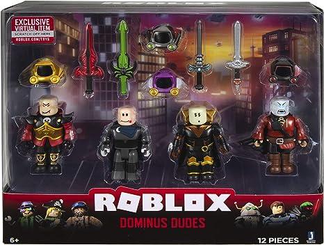 Amazon Com Roblox Action Collection Dominus Dudes Four Figure