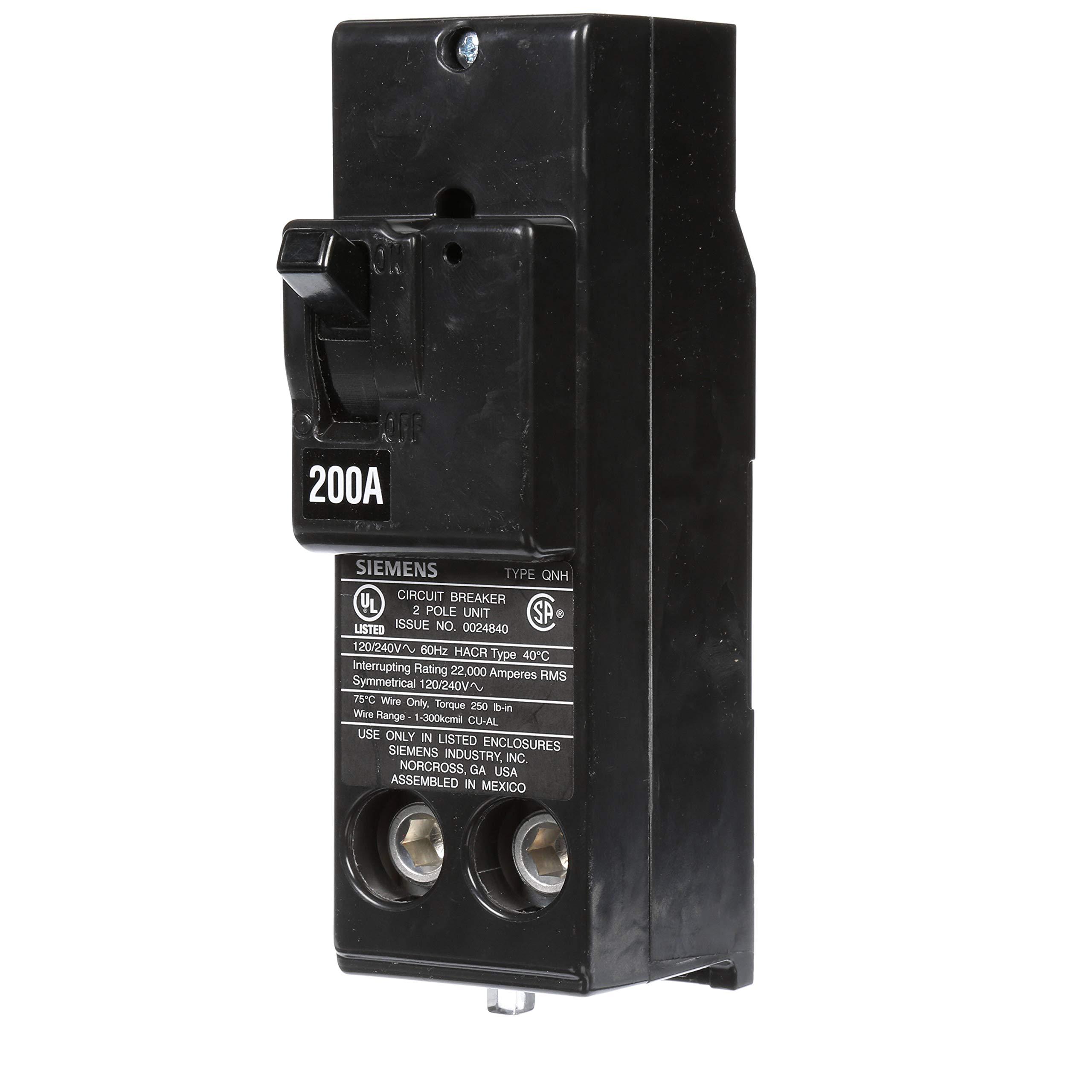 Siemens QN2200H 200A Double Pole 120/240-Volt 22K type QNH Circuit Breaker by SIEMENS