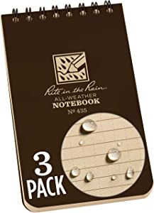 Rite in the Rain All Weather Top-Spiral Notebook, 3