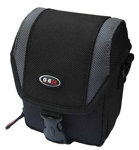 GEM CPSG15N110038 Beltpack case Negro, Gris estuche para cámara fotográfica - Funda (Beltpack case, Canon, PowerShot G15, G16, Tirante para hombro, ...
