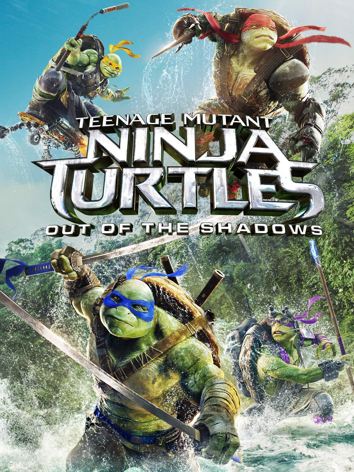 Teenage Mutant Ninja Turtles: Out Of The Shadows on Amazon Prime Video UK