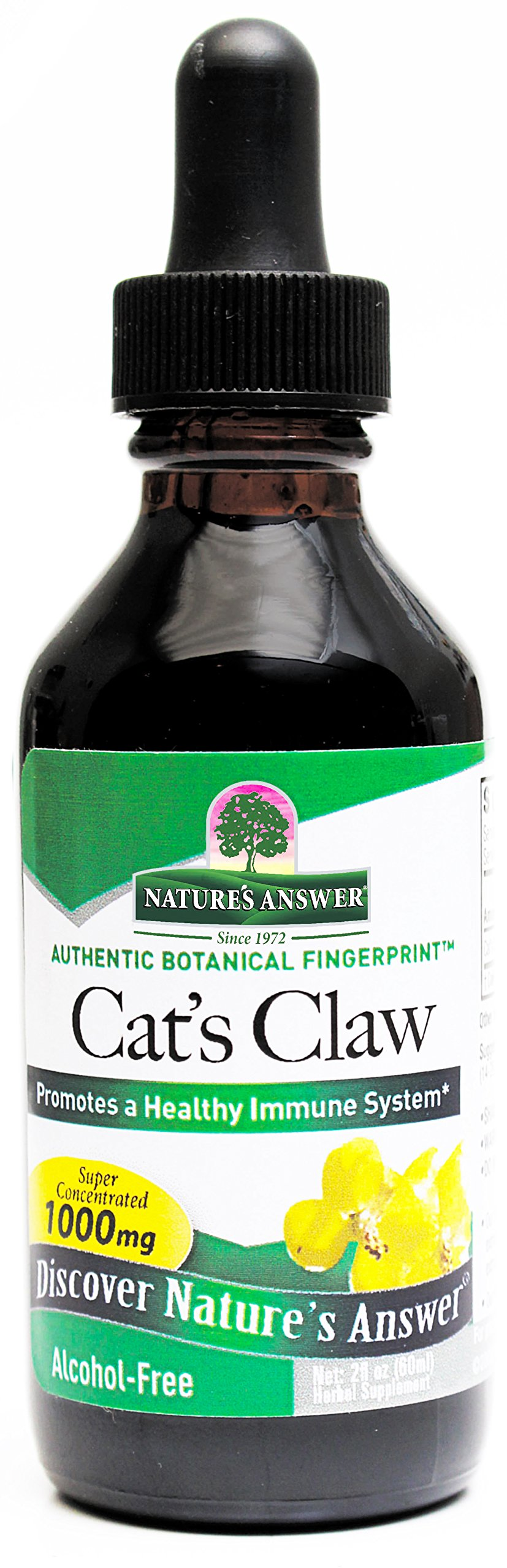 Nature's Answer Alcohol-Free Cat's Claw Inner Bark, 2-Fluid Ounces
