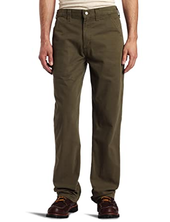 Amazon.com: Carhartt Men's Relaxed-Fit Washed Twill Dungaree Pant ...