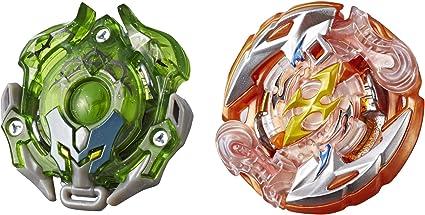 Hasbro Beyblade Burst Turbo SlingShock Dual Pack Roktavor Thorns-X ...