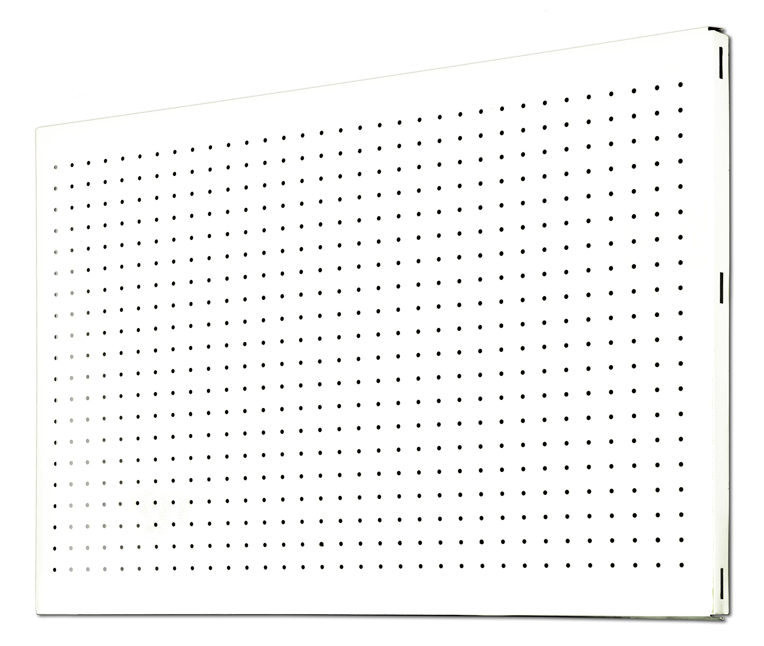 Simonrack Perforated Shelf, White, 1500 x 400 mm