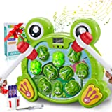 SOMAN Interactive Whack A Frog Game, Learning, Active, Durable Pounding Toy, Helps Fine Motor Skills, Fun Gift for Ages…