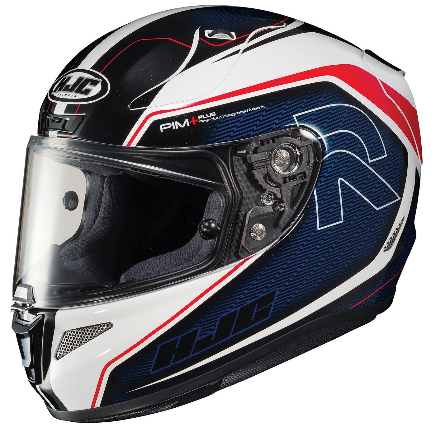 HJC Helmets 1656-213 Black//White//Blue Medium Rpha-11 Pro Darter Helmet