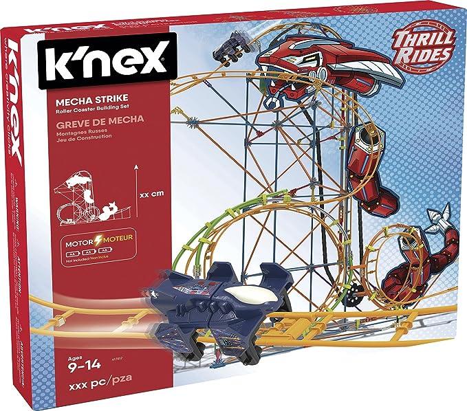 Knex- Knex Thrill Rides Montaña Rusa Mecha Strike 540 Piezas ...