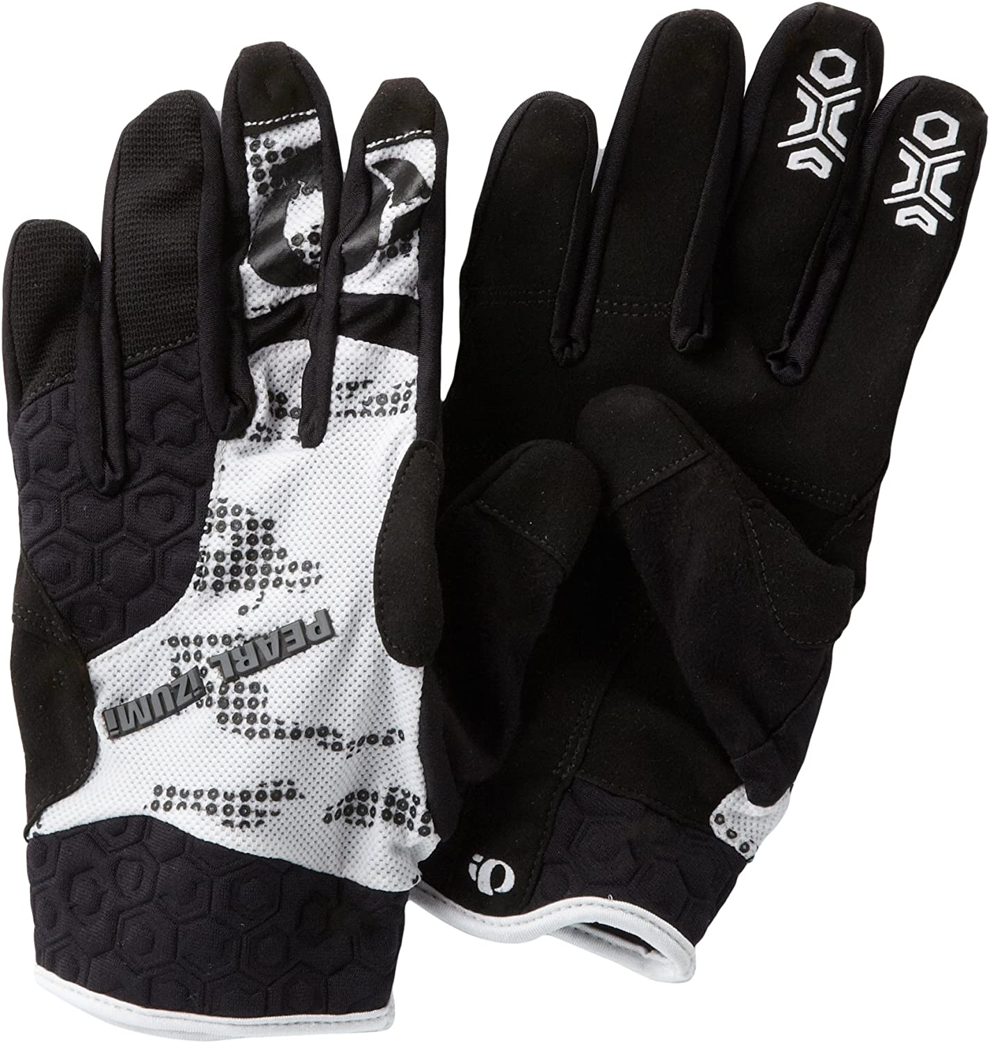 Medium Black//Gray Pearl Izumi Launch Cycling Gloves