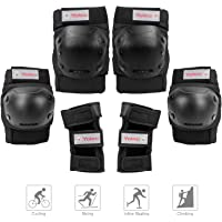 YOLEO Knee Pads Elbow Pads Wrist Guards for Kids/Youth/Adults, 3 in 1 Protective Gear Set for Rollerblade Roller Skates Riding Cycling Skateboard Inline Skating Scooter for Multi-Sports Outdoor