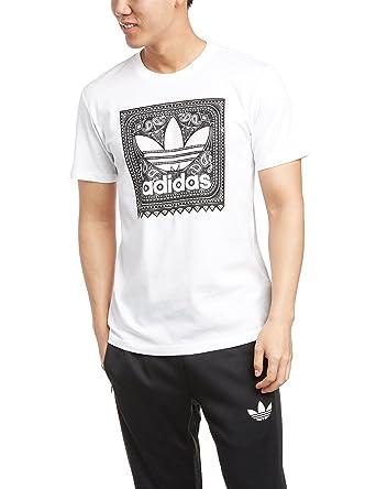T-Shirt Men adidas Originals Blackbird Paisley T-Shirt