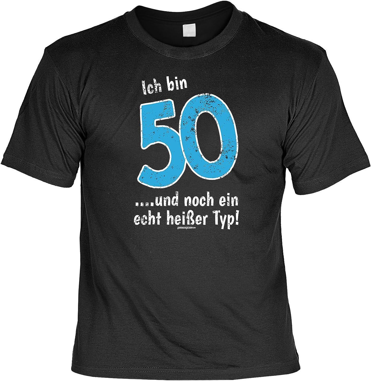 zum 50. Geburtstag Geschenk lustiges Geburtstagssprüche T