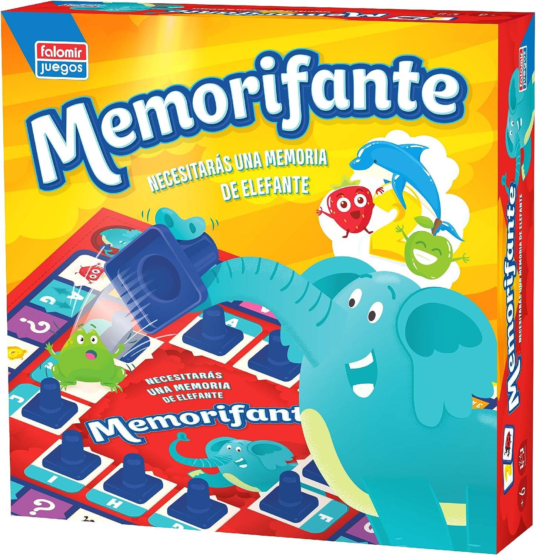 Falomir Memorifante, Juego de Mesa, Educativo, Multicolor (1 ...