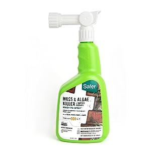Safer Brand 5324 Moss and Algae Killer