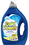 Cold Power Advanced Clean, Lemon Fresh, Liquid Laundry Detergent, 2 Litres, 40 Washloads
