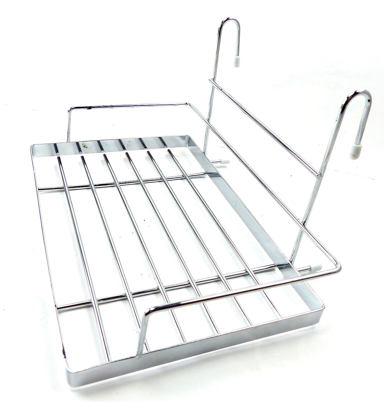 Affordable Latest Universal Ablage Kchen Regal Besteck Ablage Haengeregal  Kuechen Ablage Hnge Korb Metall Gitter Amazonde