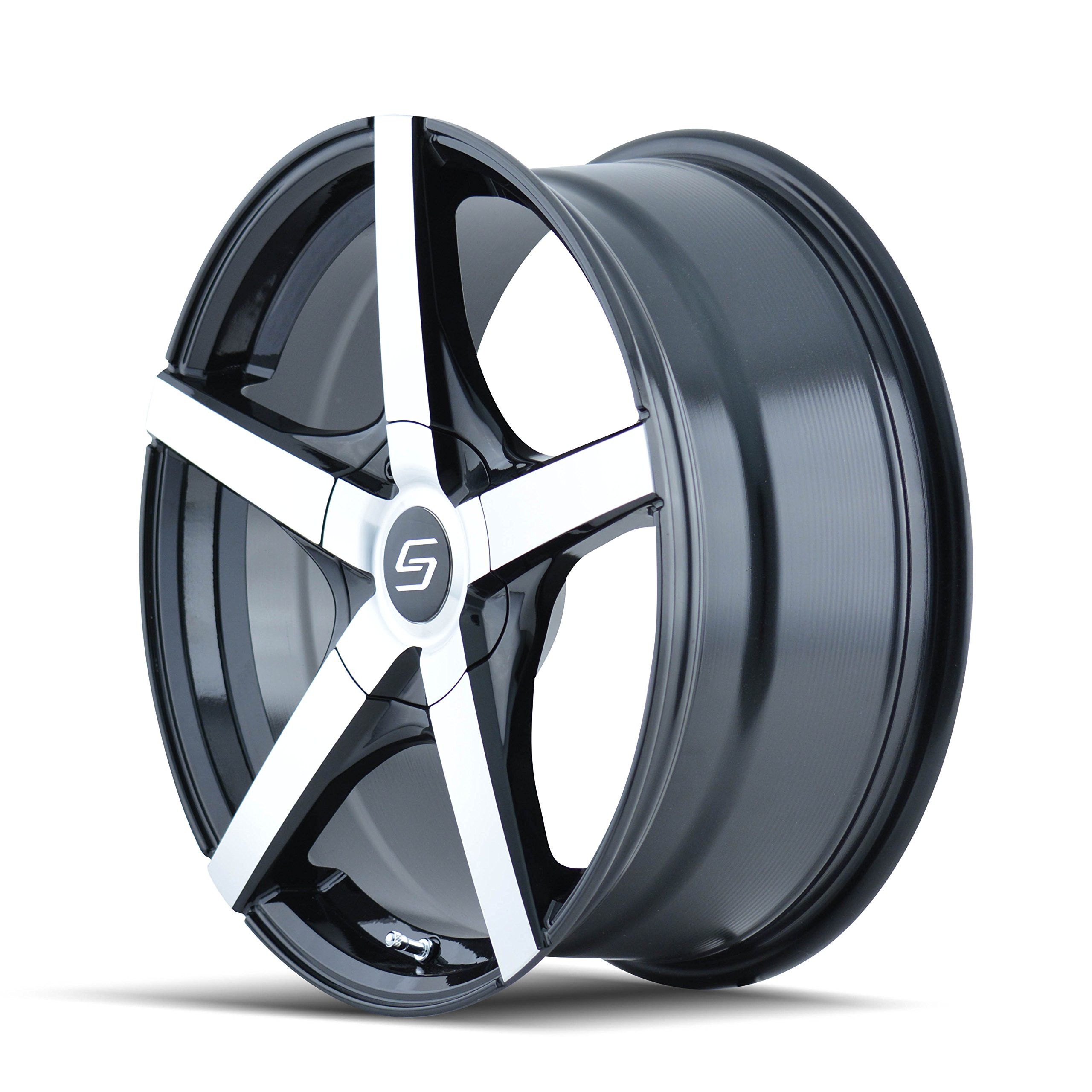 Sacchi S72 272 Black Wheel with Machined Face (18x7.5''/10x110mm)