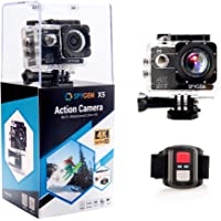 Spygem X5 16MP 4K Ultra HD Waterproof Digital Action Camera