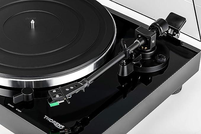 Thorens TD 202 Tocadiscos Color Negro Brillante: Amazon.es ...